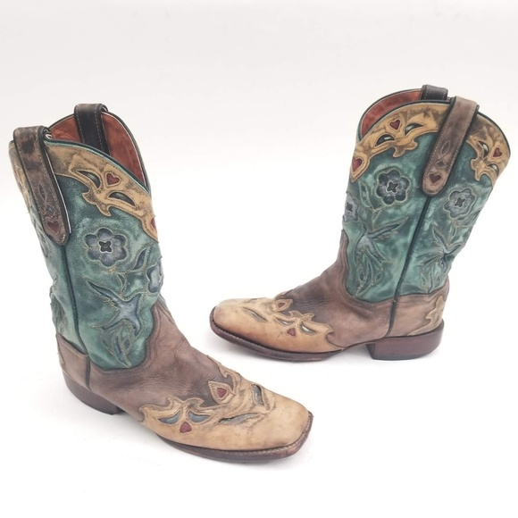 28913b60429 Dan Post Cowgirl Boots - Style 2914 - Size 8.5 M